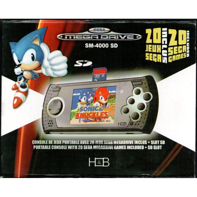 Console de Jeux Portable Megadrive