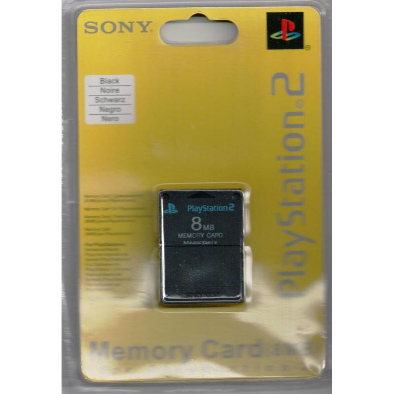 Carte Memoire 8Mo Noire PS2