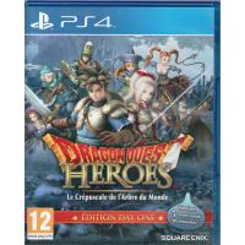 Dragon Quest Heroes : le crépuscule de l'arbre du monde - édition day one PS4