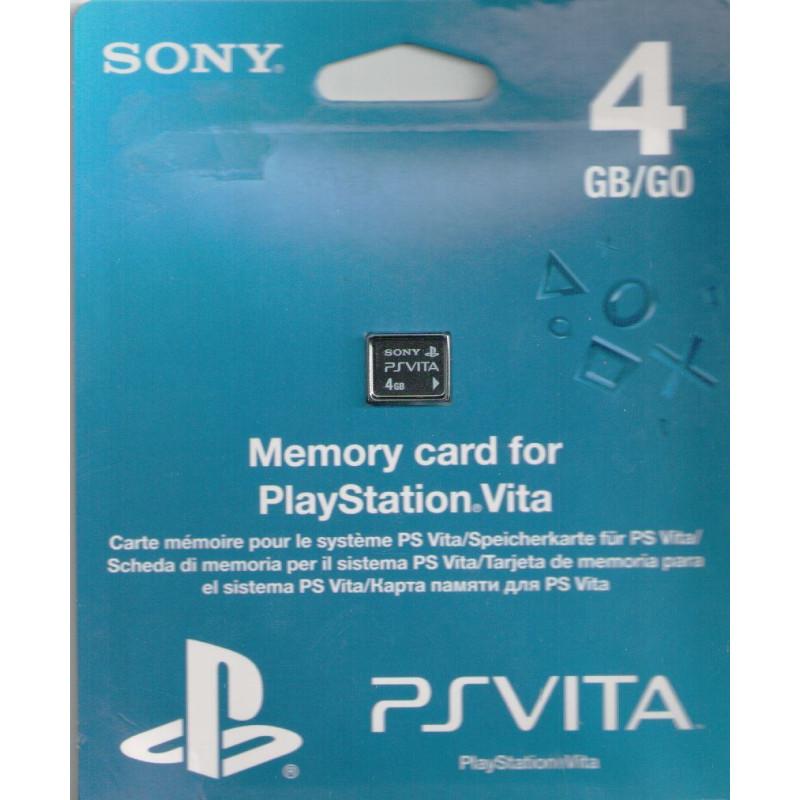 Carte Mémoire 4 Go pour PS Vita