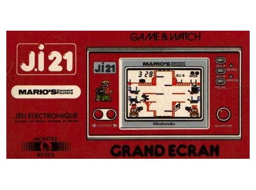 Game Watch Mario Cement Factory en boite