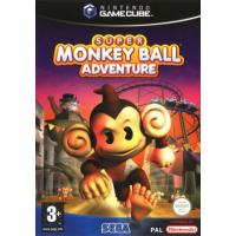 Super Monkey Ball Adventure GC
