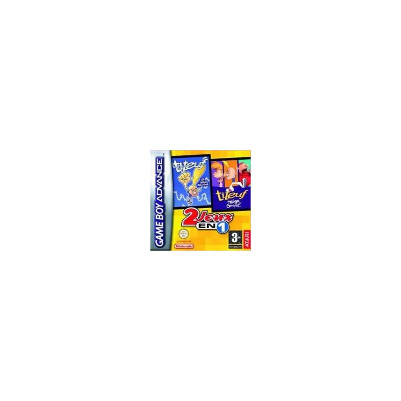 Titeuf 2 jeux en 1 GBA