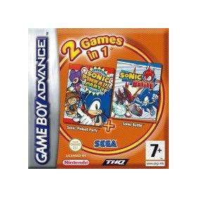2 jeux en 1 Sonic Pinball...
