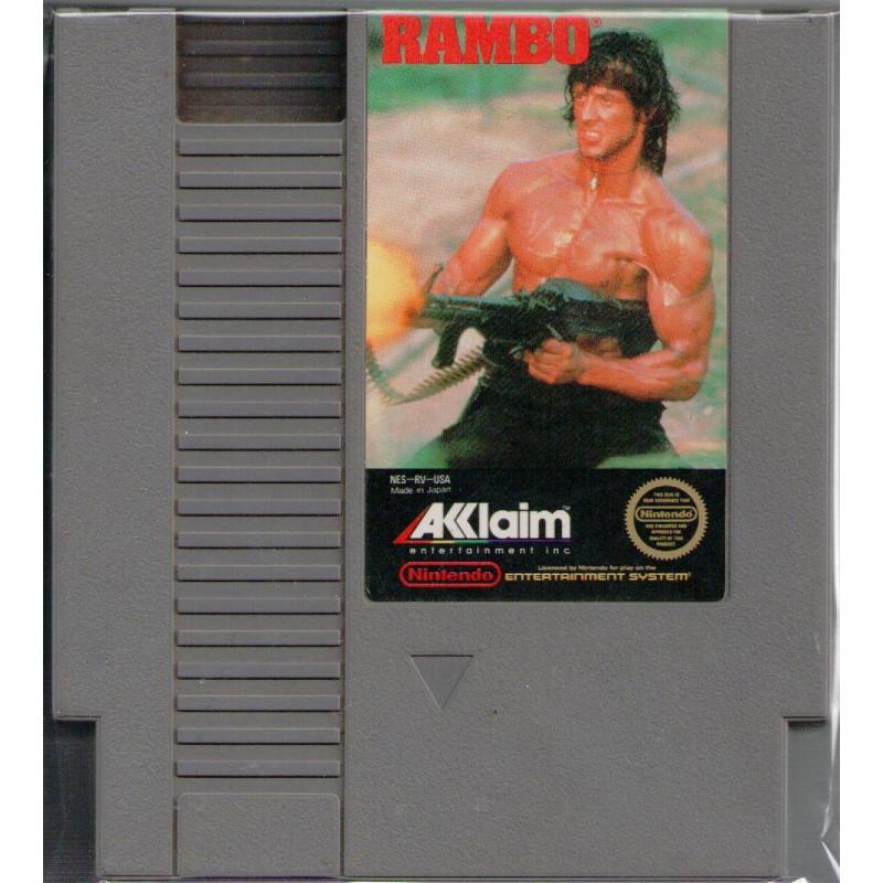 Rambo [import US] NES