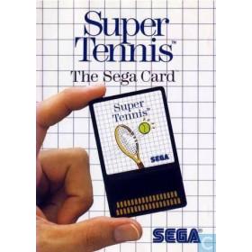 Super Tennis (The Sega Mega Card) MS