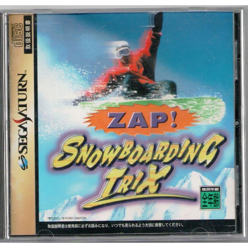 Zap! Snowboarding Trix (Import JAP) SATURN