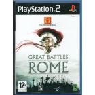 The History Channel : Great Battles of Rome PS2