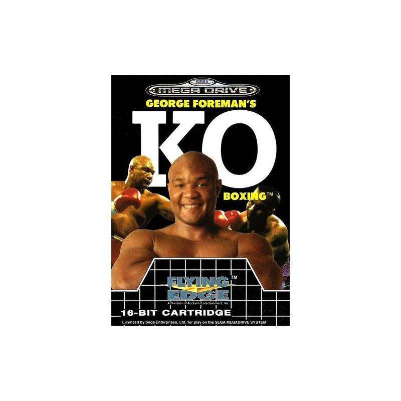 George Foreman's KO Boxing en boîte MD