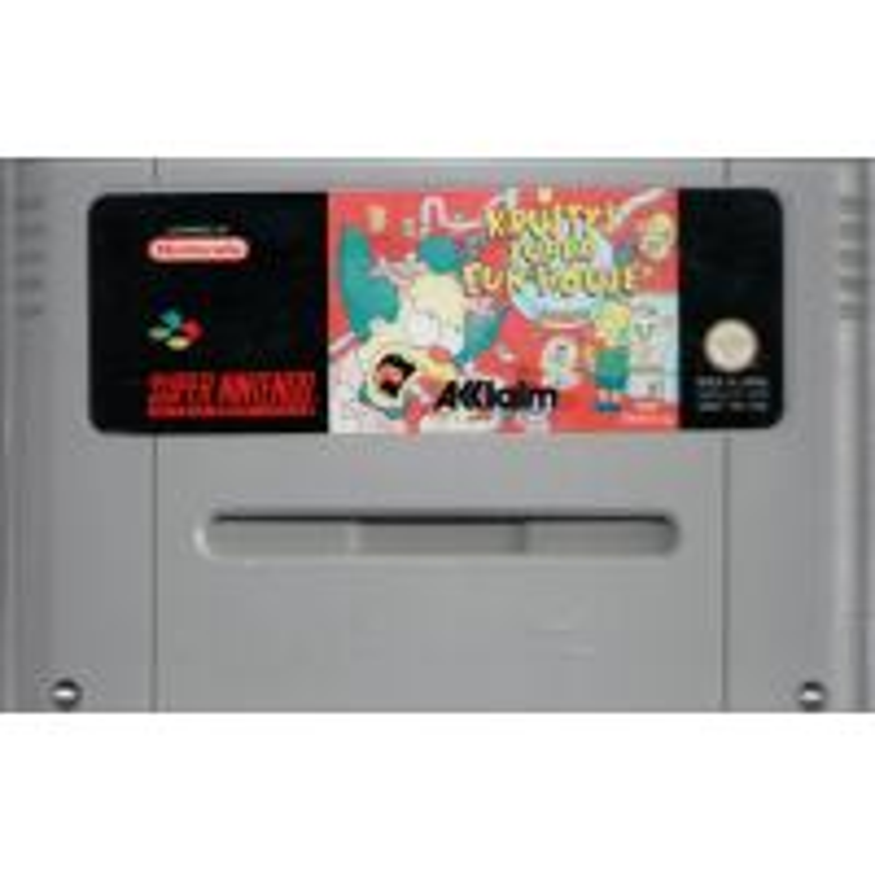 Krusty's Super Fun House SNES