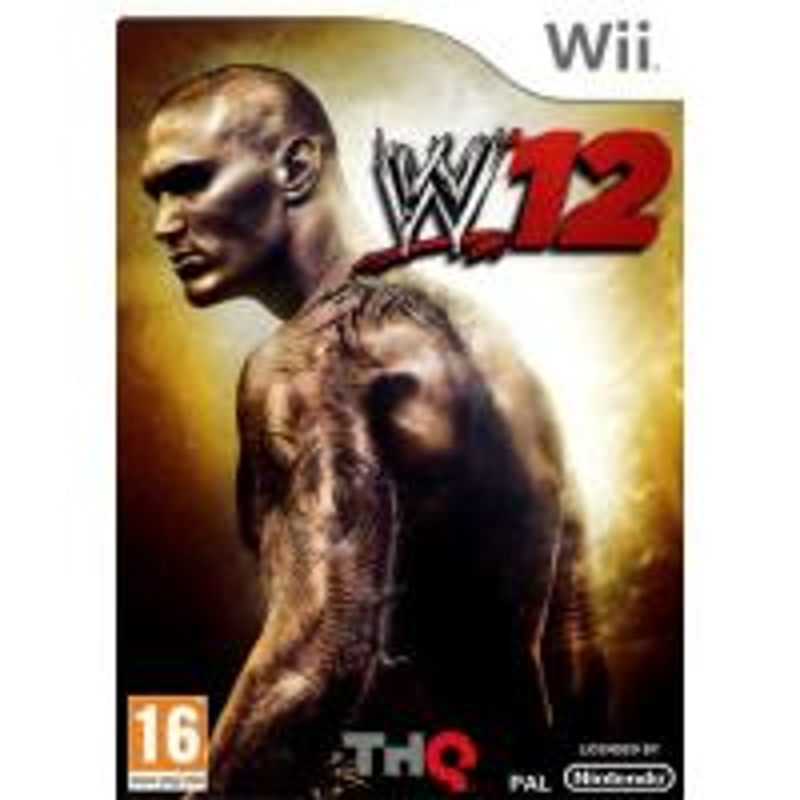 WWE'12 Wii
