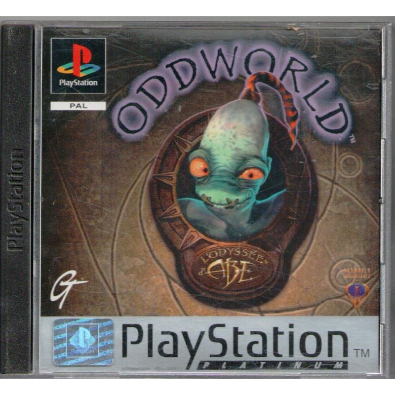 Oddworld : L'Odyssée d'Abe (platinum) PSX