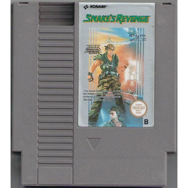Metal Gear : Snake's Revenge NES