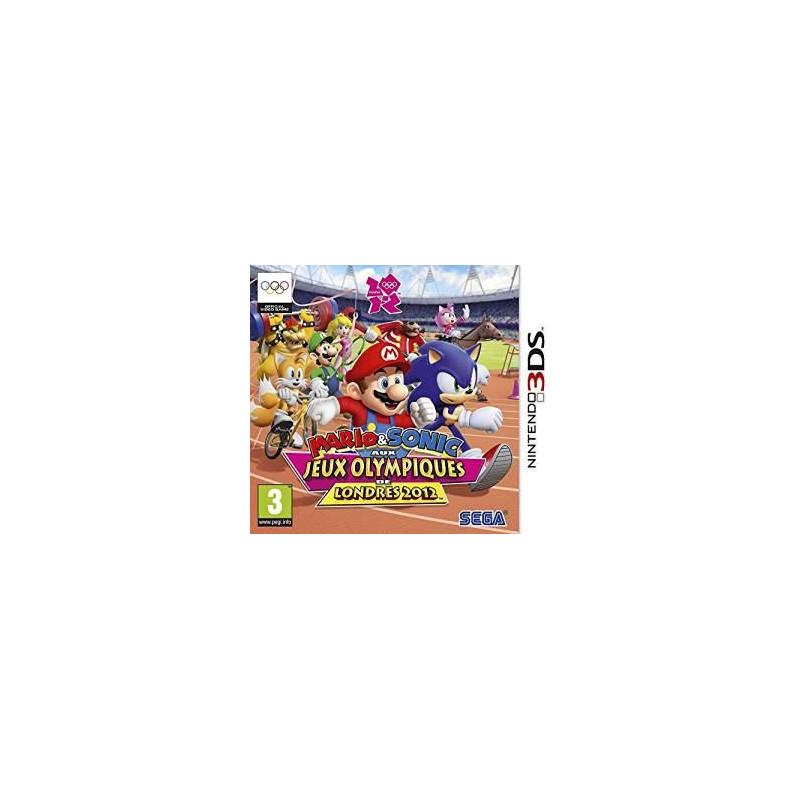 Mario & Sonic aux Jeux Olympiques de Londres 2012 3DS