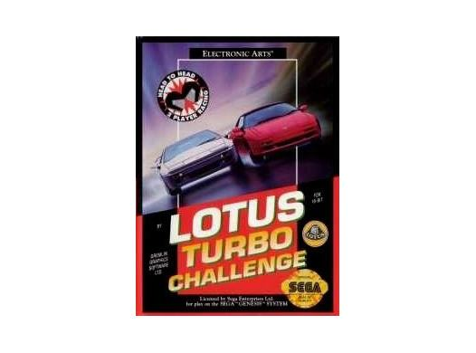 Lotus Turbo Challenge en boîte MD