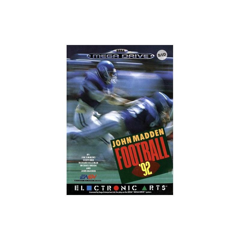 John Madden Football '92 en boîteMD