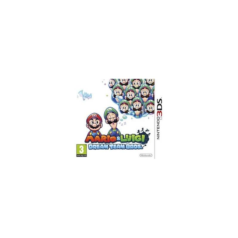 Mario & Luigi : Dream Team Bros. 3DS