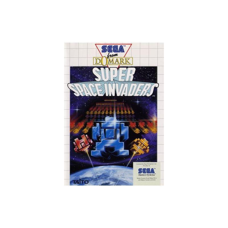 Super Space Invaders en boîte MS