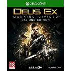 Deus EX Manking Divided Edition Day One Ps4