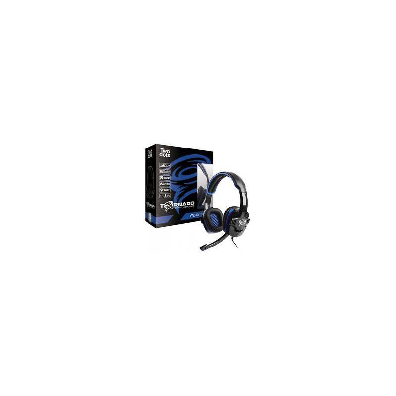 Casque Tornado 2.0 Bleu Pour PS4 / XBOXONE