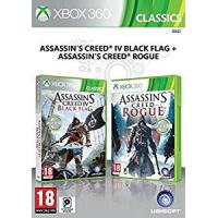 Assassin's Creed IV : Black Flag + Assassin's Creed : Rogue Xbox360