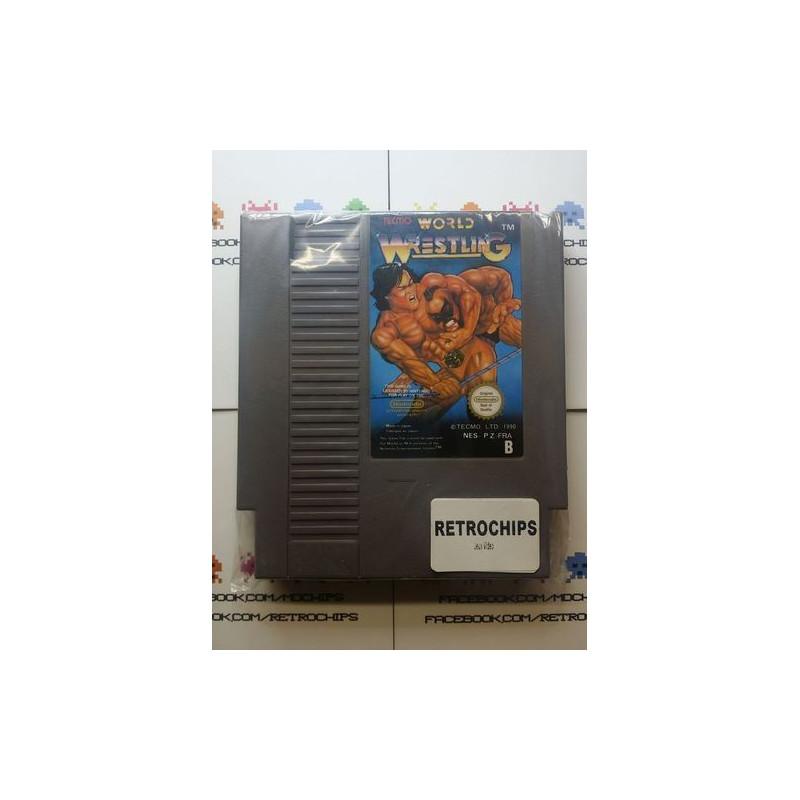 Tecmo World Wrestling NES
