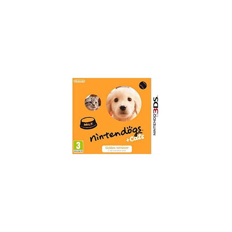Nintendogs + Cats Golden Retriever & ses Nouveaux Amis 3DS