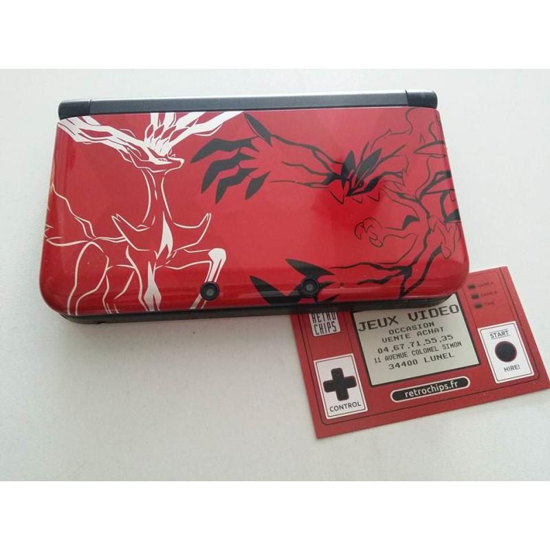 Console 3DS XL - Edition Limitée Pokemon X Y Rouge