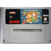 The Simpsons Bart's Nightmare SNES