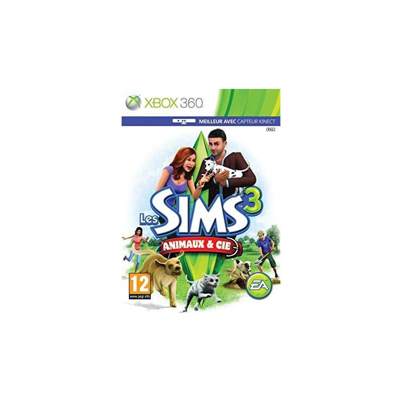 Les Sims 3 : Animaux & Cie XBOX360
