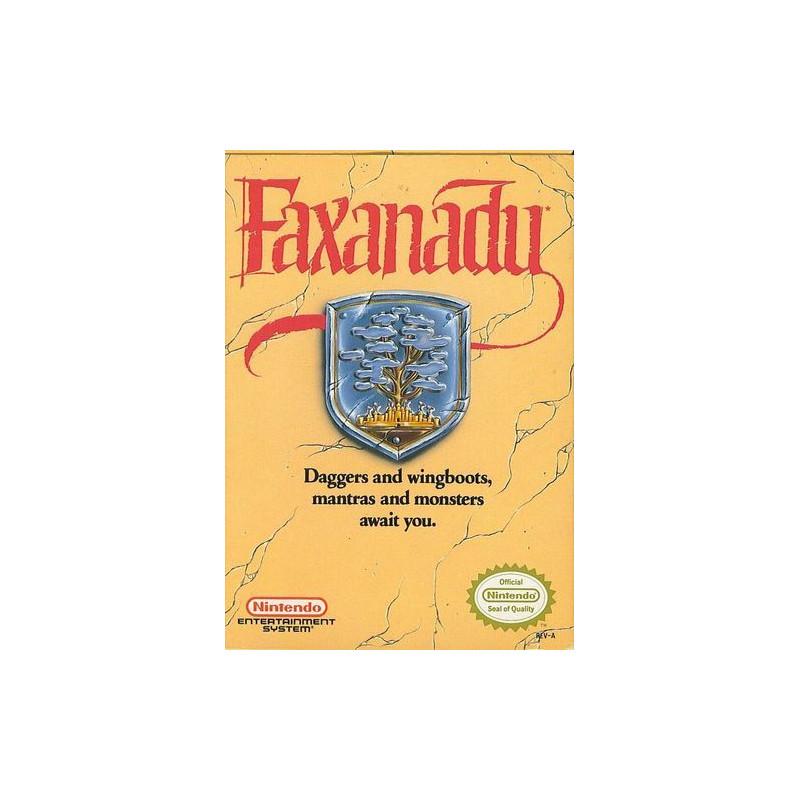 Faxanadu NES