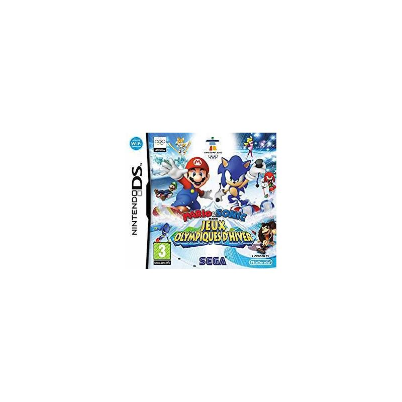 Mario & Sonic aux Jeux Olympiques d'Hiver DS