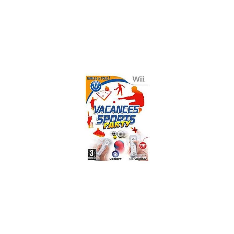 Famille en folie ! Vacances Sports Party Wii