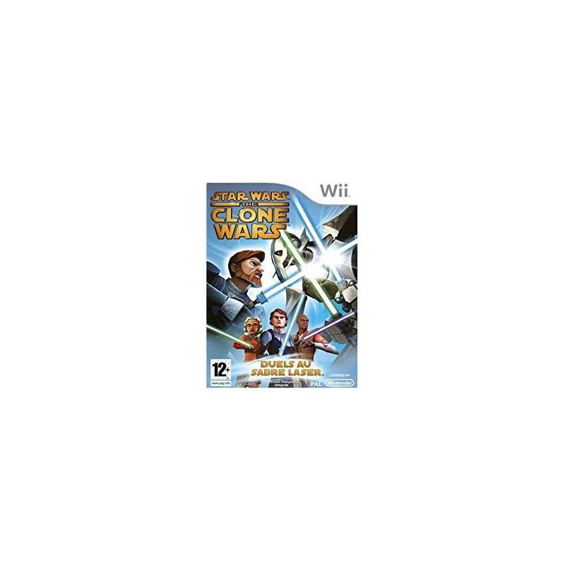 Star Wars The Clone Wars : Duels au Sabre Laser Wii