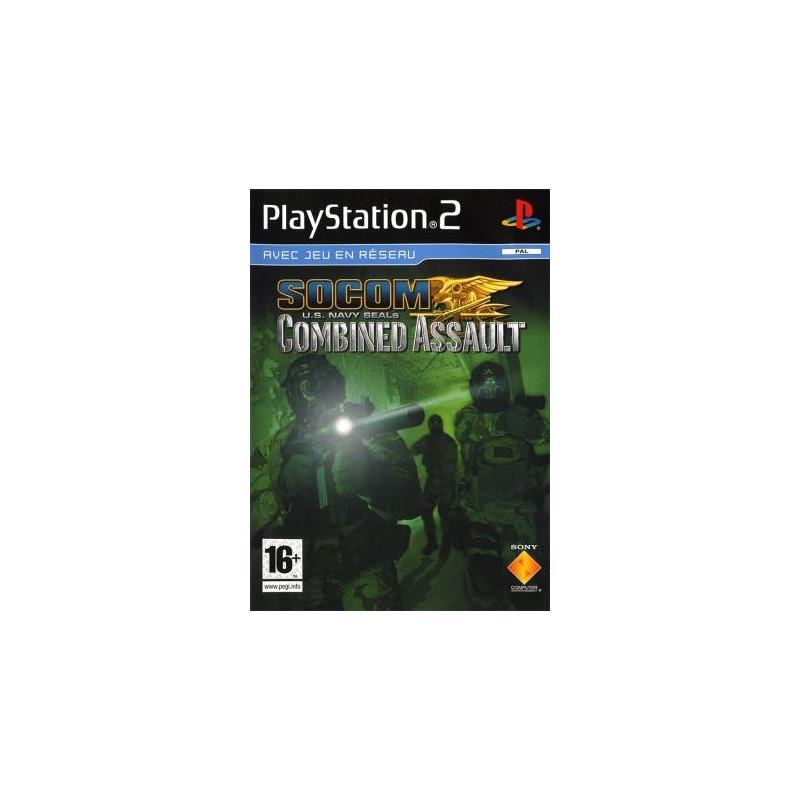SOCOM : U.S. Navy SEALs :Combined Assault PS2
