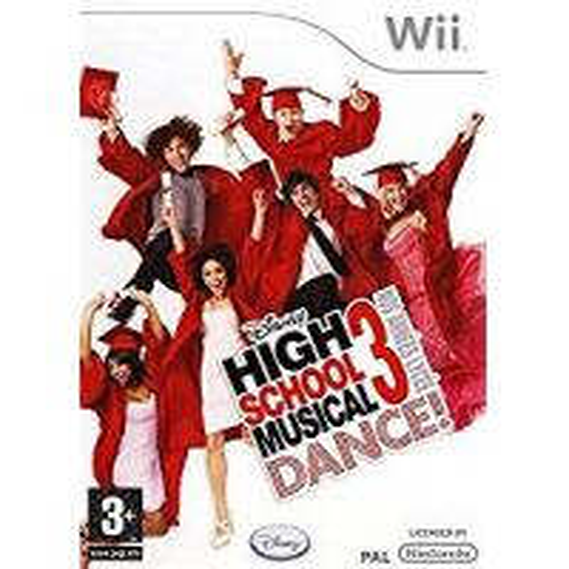 High School Musical 3 Dance ! Nos Années Lycée Wii