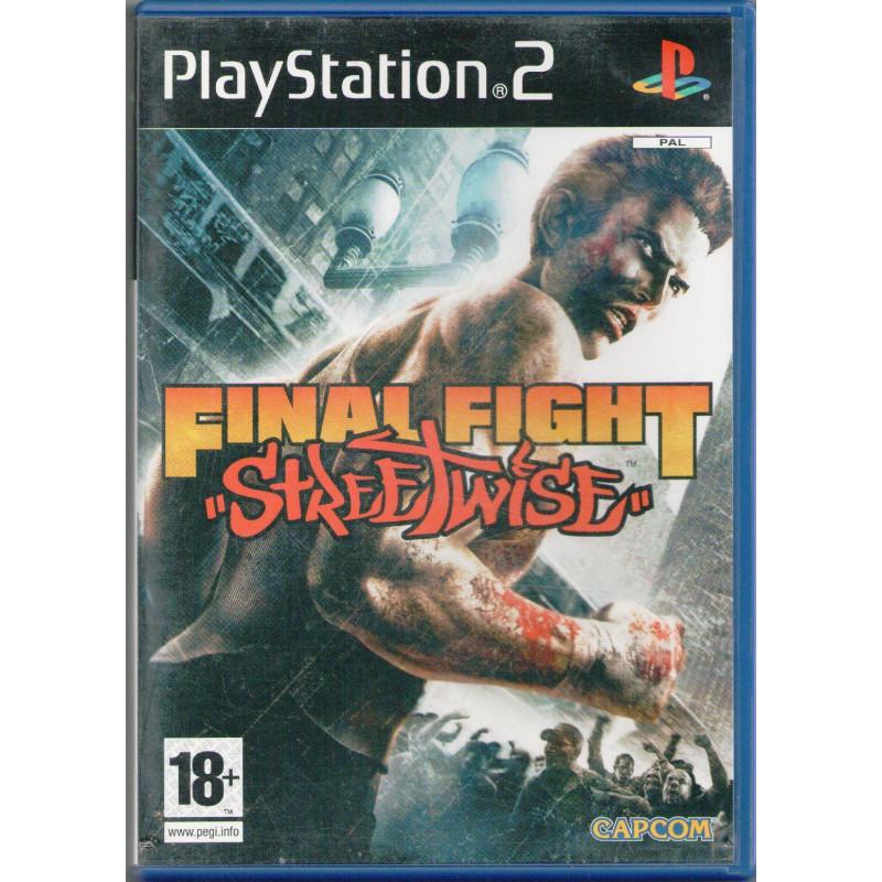 Final Fight Streetwise PS2