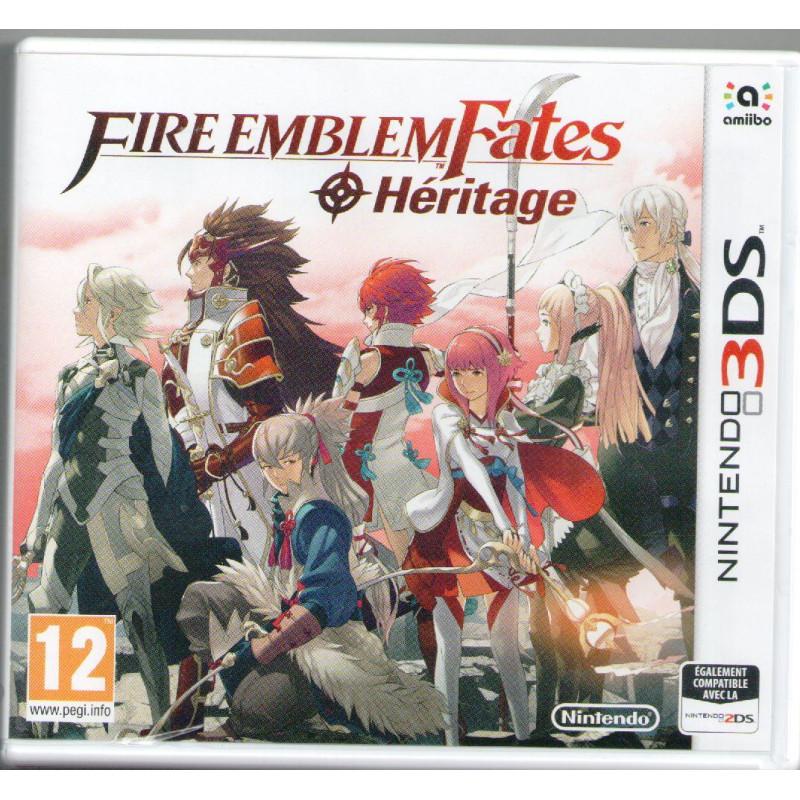 Fire Emblem Fates : Heritage 3DS