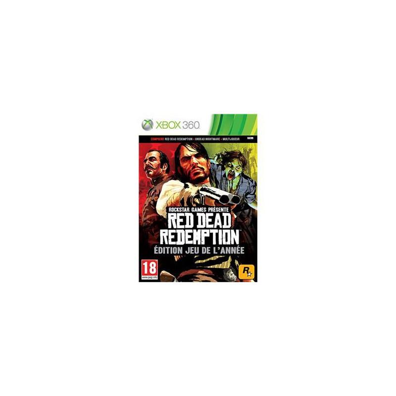 Red Dead Redemption Edition jeu de l'année XBOX360