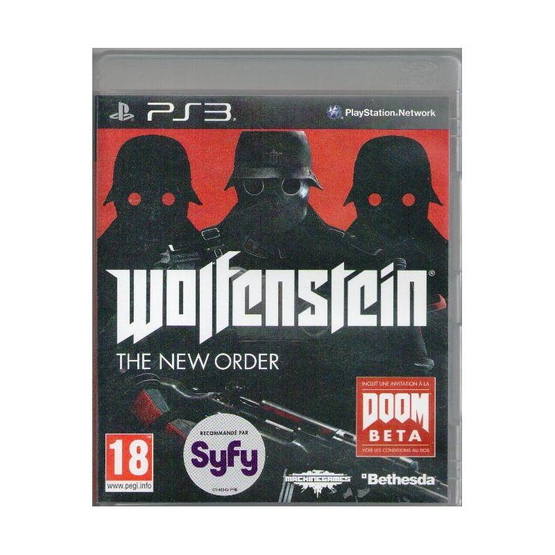 Wolfenstein : The New Order PS3