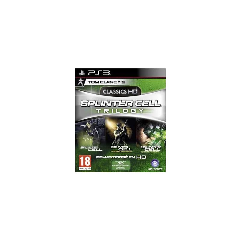 Splinter Cell Trilogy : Splinter Cell + Chaos Theory + Pandora Tomorrow PS3