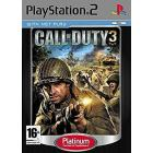 Call of Duty 3 : En Marche vers Paris [Edition Platinum] PS2