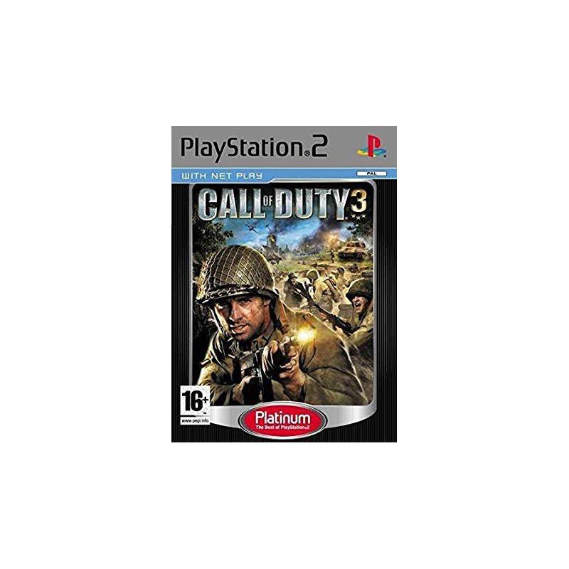 Call of Duty 3 : En Marche vers Paris [Edition Platinum] PS2