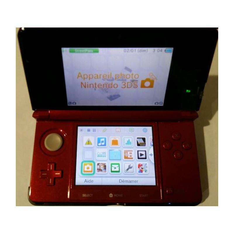 Console Nintendo 3DS Rouge