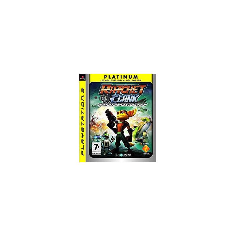 Ratchet & Clank : Opération Destruction [Edition Platinum] PS3