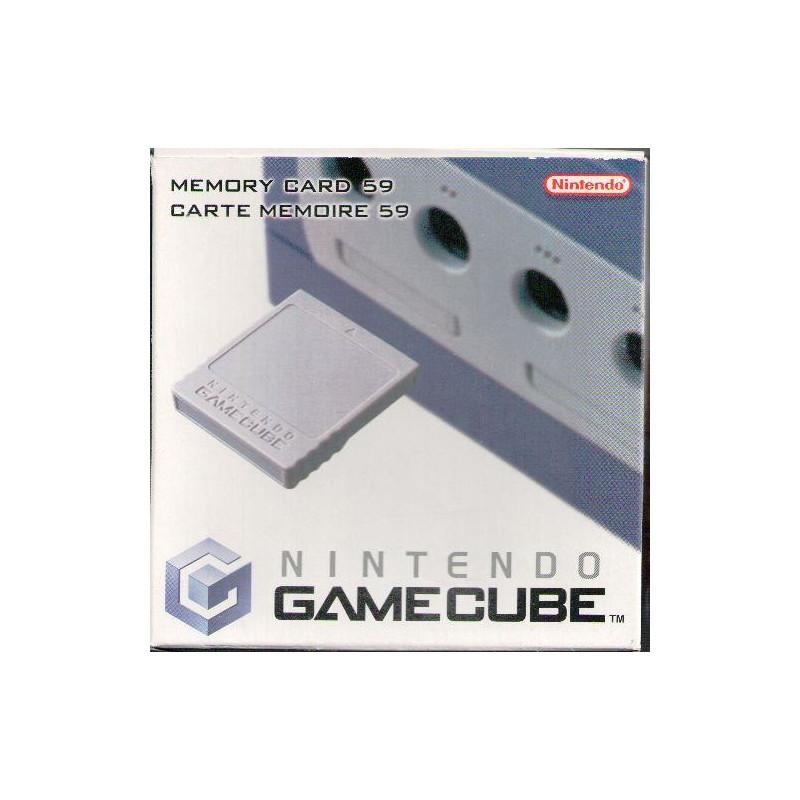 Carte Mémoire Officielle 59 blocs pour Nintendo Gamecube