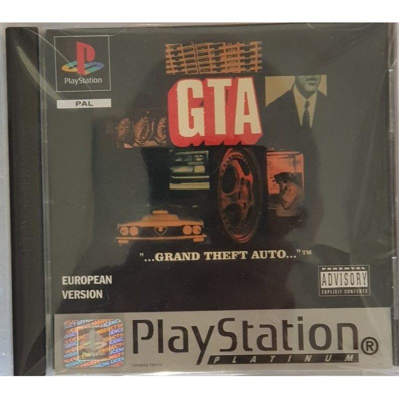 GTA European Version [Edition Platinum] PS1