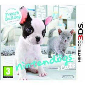 Nintendogs + Cats Bouledogue Français & ses Nouveaux Amis 3DS