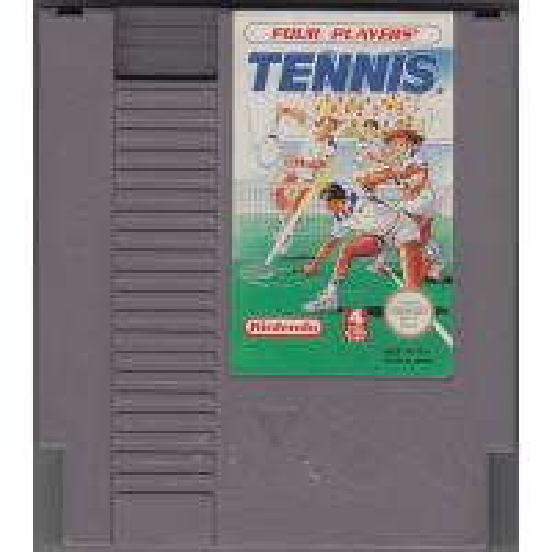 Four Players Tennis NES