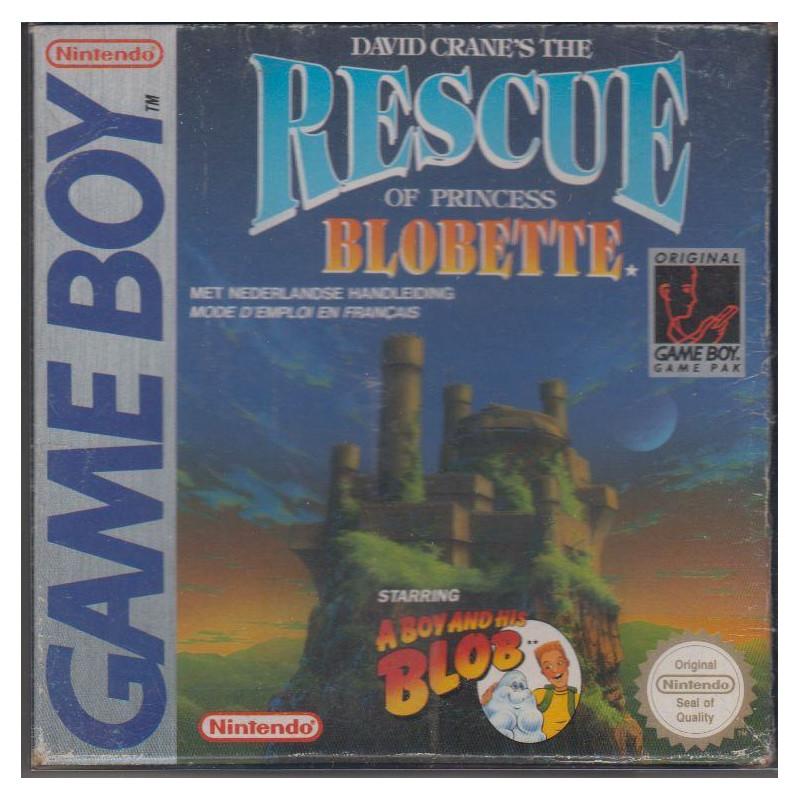 A Boy and his Blob : Rescue of Princess Blobette GB